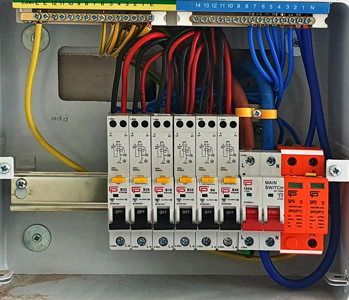 Fuse box upgrade in Sleaford