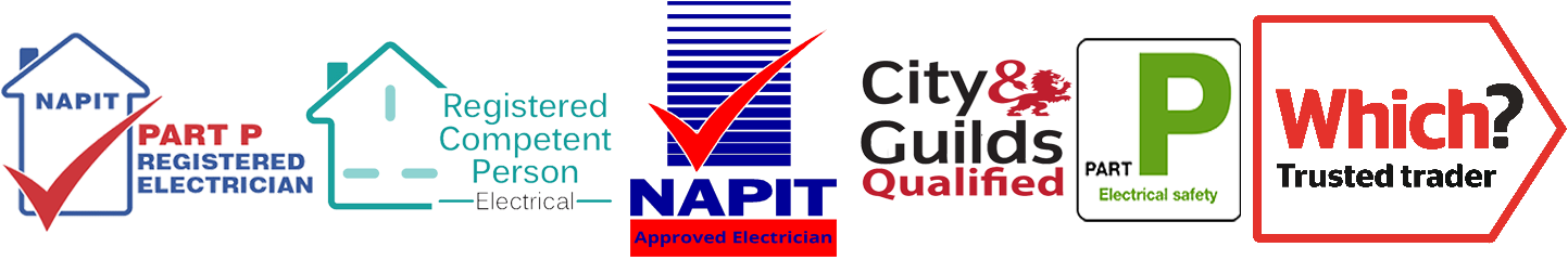 Electrician in Sleaford Accreditations