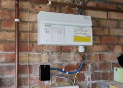 Consumer Unit in Garage